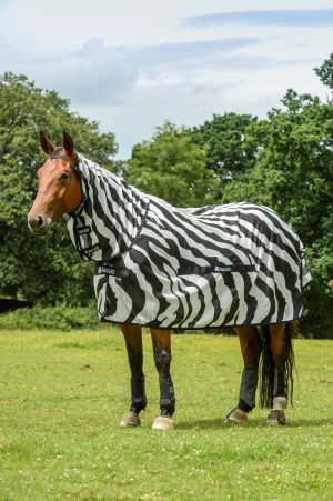 Bucas Buzz-Off Zebra Full Neck