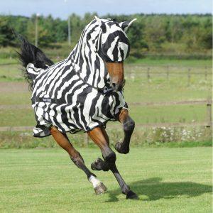 Bucas Buzz-Off Zebra and mask 16145