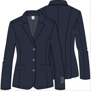 Imperial Riding Simply Dutch Competition Jacket Navy
