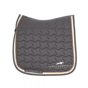 Schockemohle-Champion-Saddle-Pad-Grey-Cream
