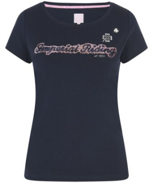 T-shirt-Bliss-Navy-Imperial Riding