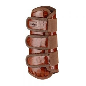 caldene-croc-tendon-boots-brown