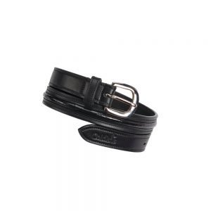 caldene-narva-womens-crocodile-belt-black
