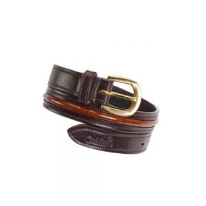 caldene-narva-womens-crocodile-belt-brown