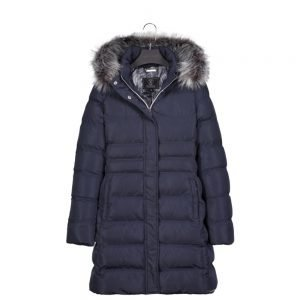 rino-pelle-Roanna-long-coat-navy
