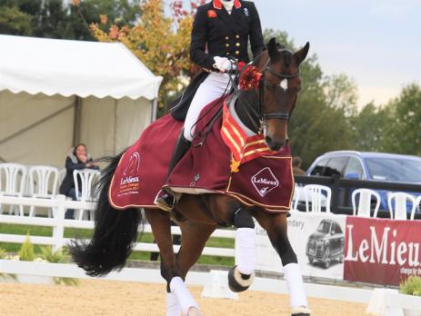 Lara Butler Grand Prix Lemieux National Dressage Champs Hudson Equine