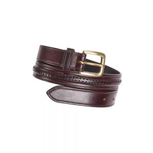 Caldene-Alderley-Ladies-Braided-Leather-Belt