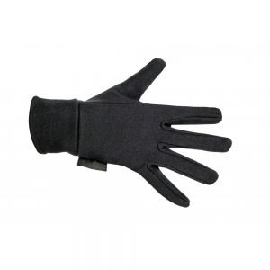 HKM Fleece Gloves Black