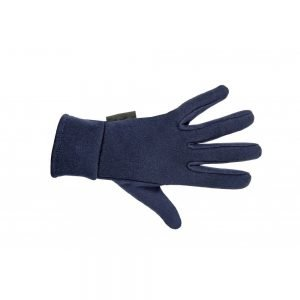 HKM Fleece Gloves Navy Blue