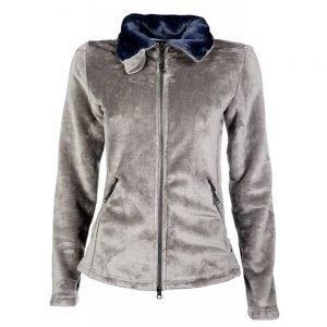 HKM-Fleece-Jacket-Soft-Hudson-Equine-Taupe