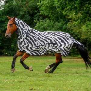 Bucas Fly Sheet Sweet itch Zebra