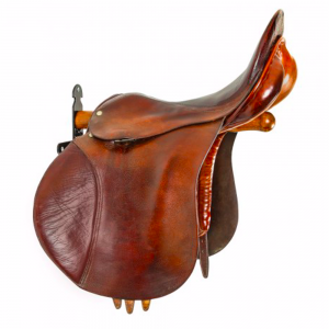 Stubbs England Retro Saddle Rack Saddle