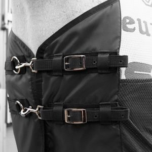 LeMieux Carbon Cooler Buckles