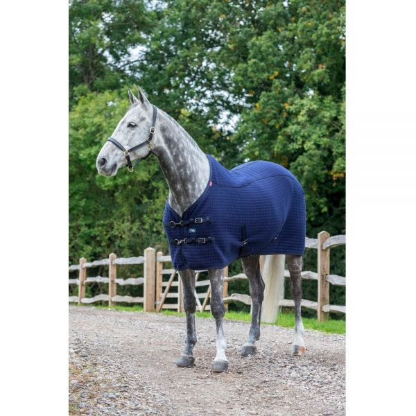 Lemieux Thermo Cool Rug Navy Hudson