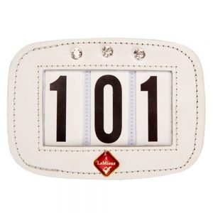 LeMieux-Hamag-White-Diamonte-Number-Holder-Saddle-Pad