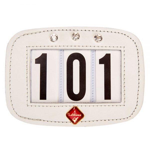 LeMieux-Hamag-White-Diamonte-Number-Holder-Saddle-Pad