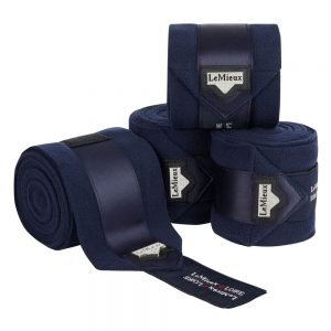 LeMieux-Loire-Satin-Polo-Bandages-Navy