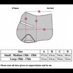 LeMieux-Prosport-Saddle-Pad-GP-Size-Guide