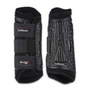 LeMieux-Shoc-Air-XC-Boots-Front-Black
