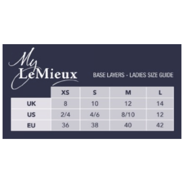 My-LeMieux-Base-Layer-Size-Guide
