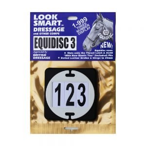 Equidisc-Bridle-Number