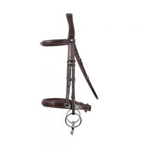 Montar-Hunter-Profile-Bridle-Brown