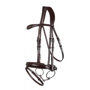 Montar-Normandie-Bridle-Brown-With Flash