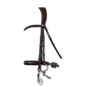 Montar-Normandie-Double-Bridle-Profile-Brown