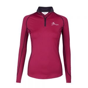 My LeMieux Base Layer Mulberry Front