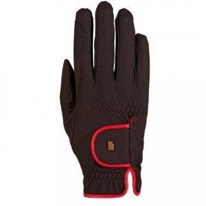 Roeckl-Lona-Glove-Black-Red