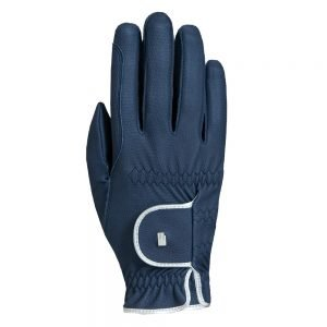 Roeckl-Lona-Glove-Navy-Silver