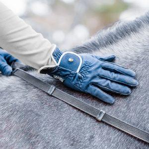 Roeckl-Lona-Glove-Navy-Silver-Image