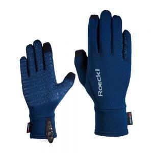 Roeckl-Weldon-Polartec-Touchscreen-Gloves-Navy