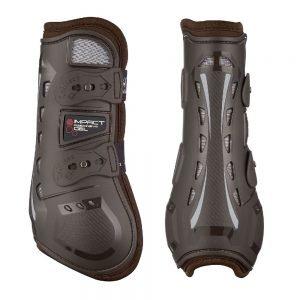 LeMieux-impact-gel-tendon-boots-brown-lr
