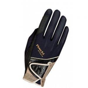 Roeckl-Madrid-Black-Gold-Riding-Glove
