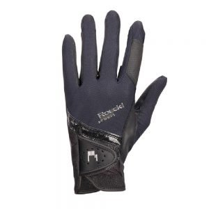 Roeckl-Madrid-Black-Riding-Gloves-New