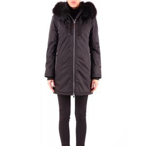 Rino And Pelle Cavin Black Parka