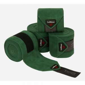 LeMieux-polo-bandages-huntergreen-hr