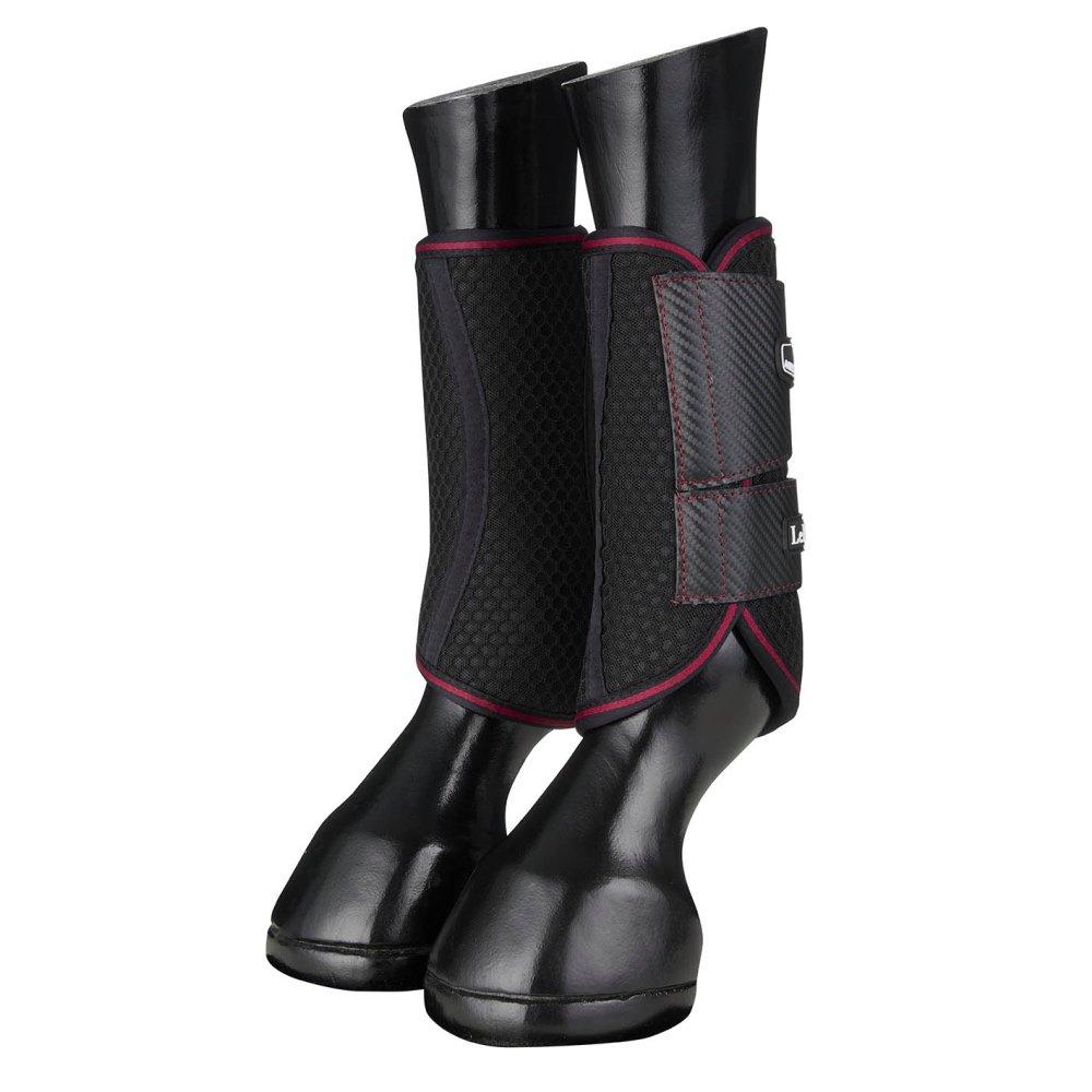 LeMieux-Carbon-Mesh-Wrap-Boots-Black-Mulberry-1