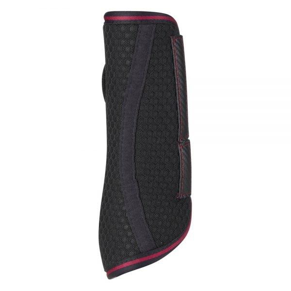 LeMieux-Carbon-Mesh-Wrap-Boots-Black-Mulberry-2