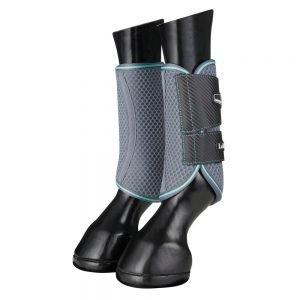 LeMieux-Carbon-Mesh-Wrap-Boots-Grey-Mint-1