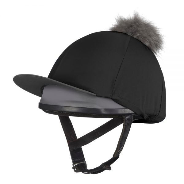 LeMieux Hunter Green Hat Silk