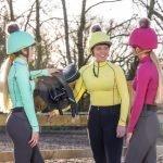 LeMieux-Lifestyle-Image-Baselayer-Hat-Silk-Citron-Mint-French-Rose