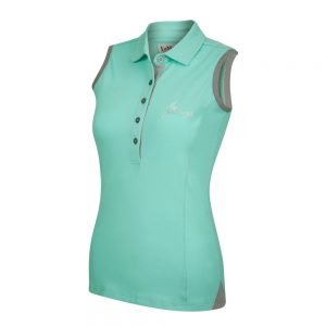 LeMieux-Sleeveless-Polo-Shirt-Mint-Grey-2