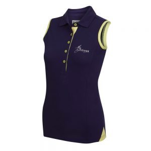 LeMieux-Sleeveless-Polo-Shirt-Navy-Citron-2