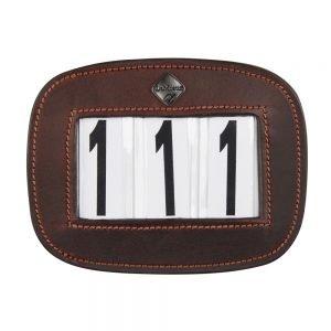 LeMieux-number-holder-rectangle-brown-hr