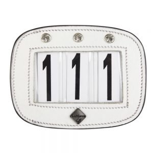 LeMieux-number-holder-rectangle-diamante-white-hr