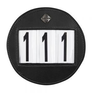 LeMieux-number-holder-round-black-hr