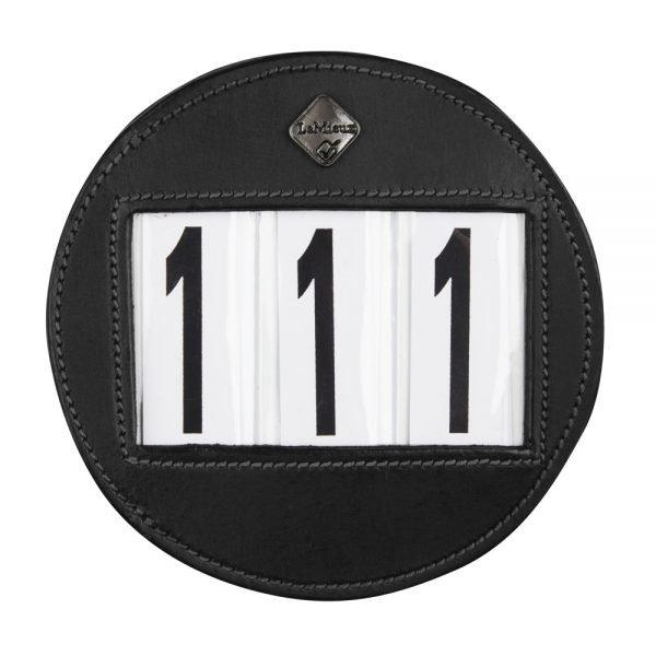 LeMieux-number-holder-round-black-hr