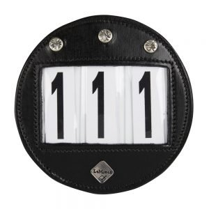 LeMieux-number-holder-round-diamante-black-hr